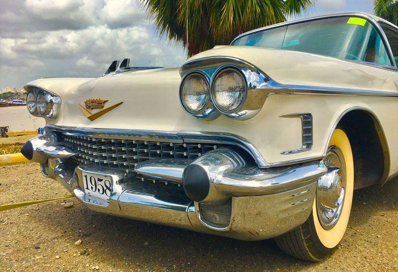 Samochód 4 - Cadillac Eldorado 1958r. Cabrio