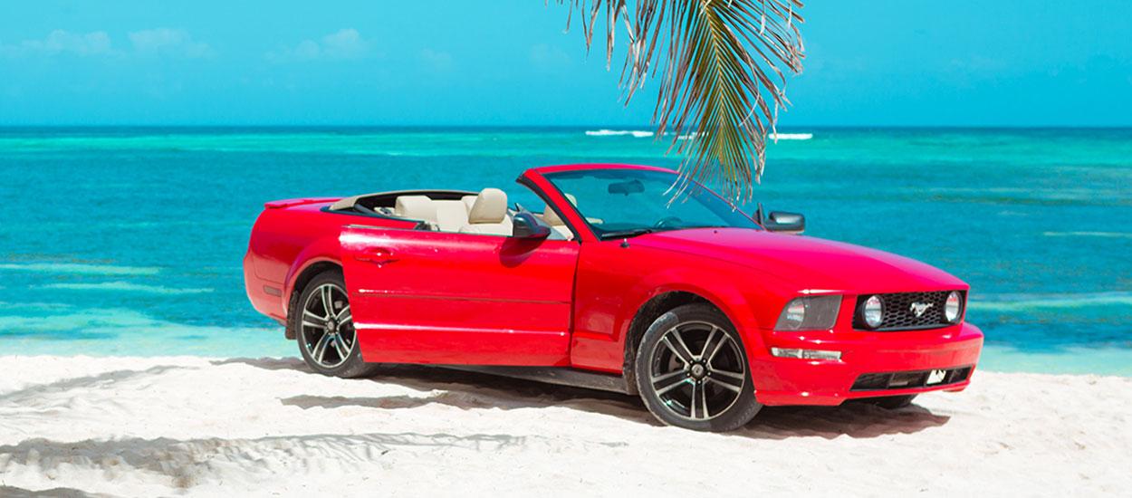 Samochód 3 - Ford Mustang Balck Peral