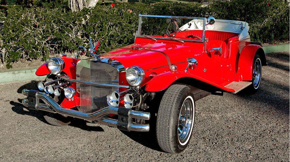 Samochód 1 - Mercedes SSK 1929r.